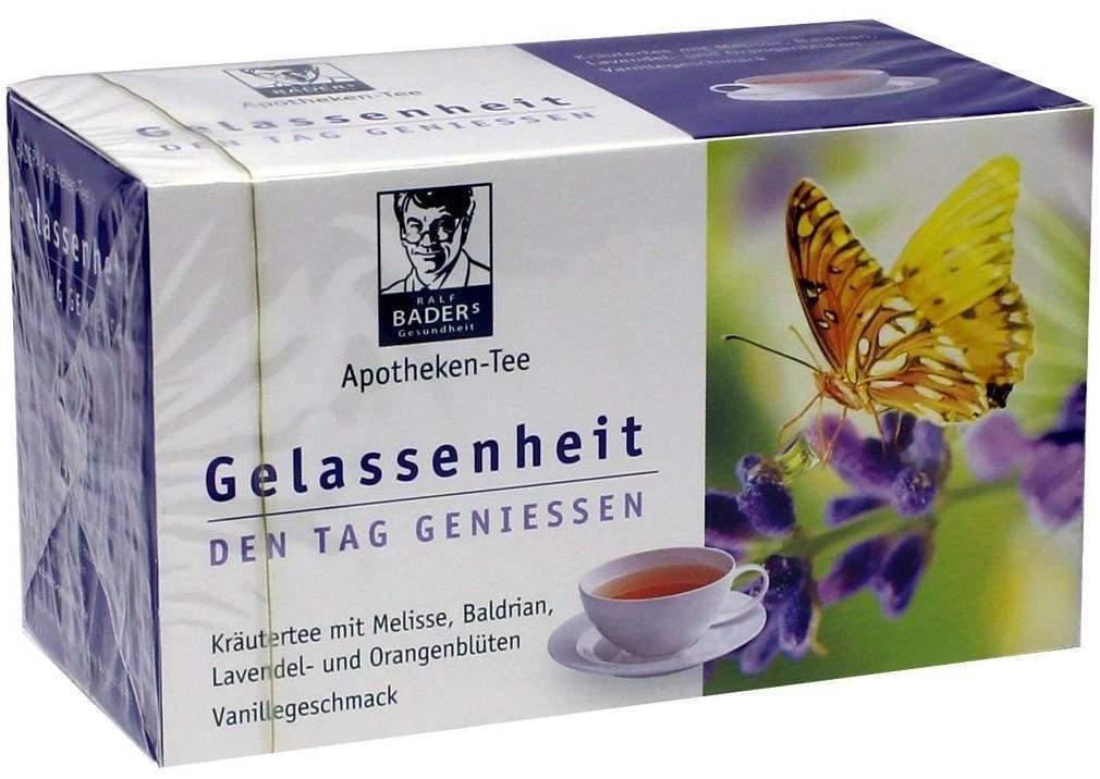 Baders Apotheken Tee Gelassenheit 20 Filterbeutel