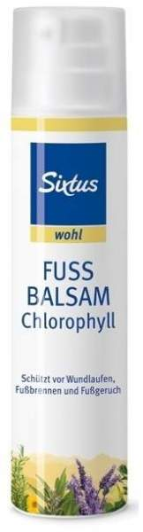 Fussbalsam Chlorophyll 100 ml