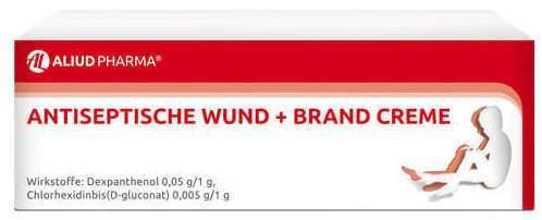 Antiseptische Wund + Brand Creme AL 30 g - 30 g Creme